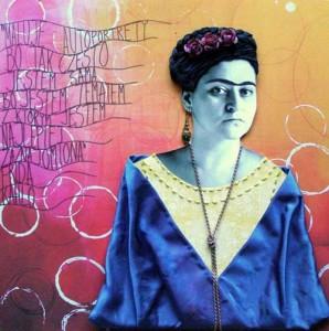 kolaż Frida