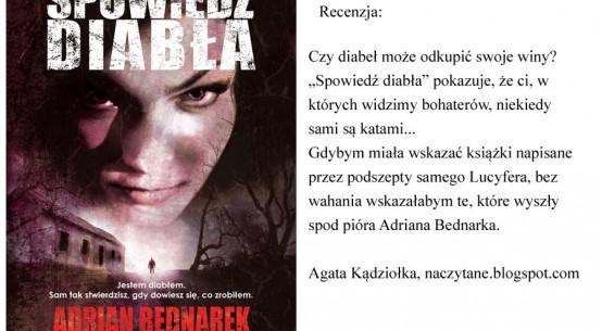 spowiedź diabla, książka,Thriller,Novae Res