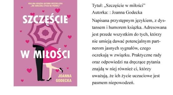 """książka """"Szczęście w miłości"""""""