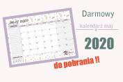 darmowy kalendarz maj