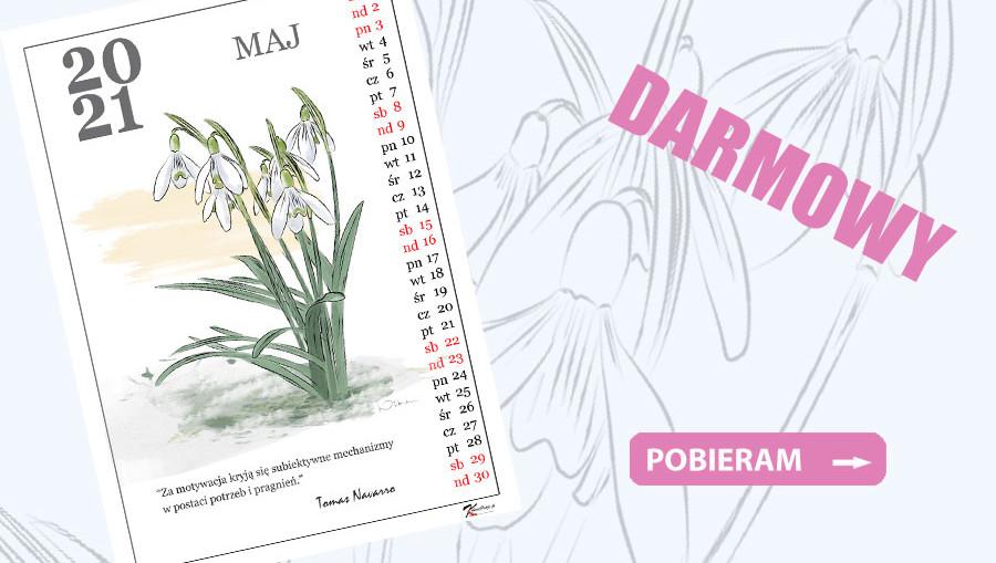 kalendarz maj 2021